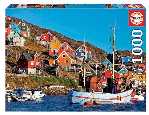 Educa Nordic Houses Puzzle 1000 Pieces