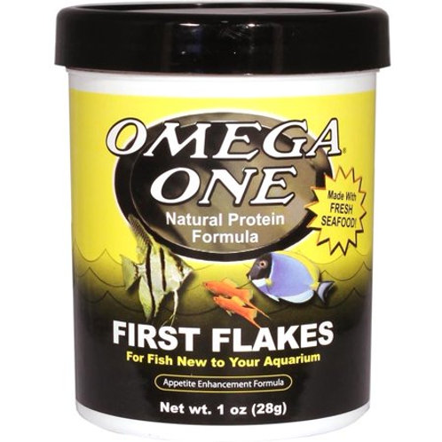 Omega One First Flakes – Natural Protein Formula (1 oz)