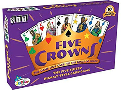 Five Crowns – The Game Isn't Over Til The Kings Go Wild