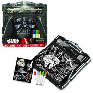 Darth Vader Star Wars Rolling Art Desk