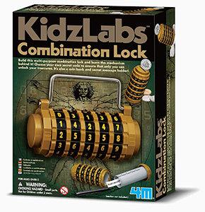 Kidz Labs 4M Combination Lock