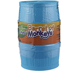 Elefun and Friends Barrel of Monkeys Game