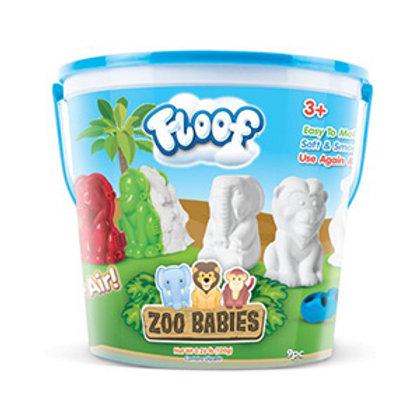 Floof Zoo Babies Modeling Clay