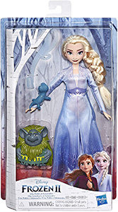Disney Frozen Elsa Fashion Doll in Travel Outfit (Inspired by Frozen 2) with Pab