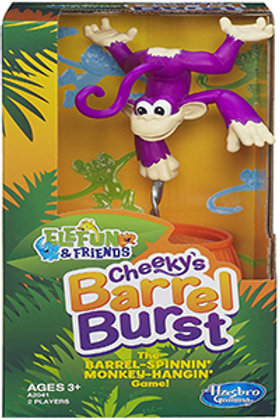 Elefun & Friends Cheeky's Barrel Burst - Hasbro