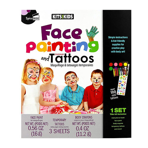 Spice Box Face Painting and Tattoos