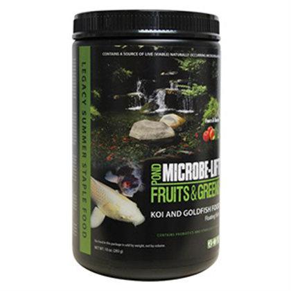 Microbe-Lift Fruits & Greens (Koi & Goldfish Food) – Floating Sticks (10 oz)