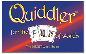Quiddler  - The Short Word Game (For The Fun Of Words)