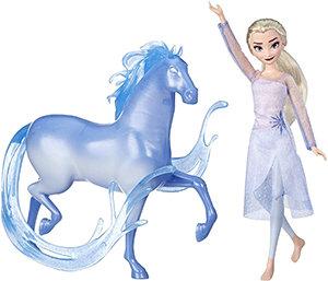 Disney Frozen Elsa Doll & Nokk (Inspired by Frozen 2)