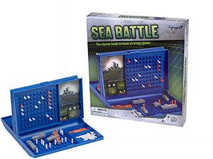 Sea Battle Family Board Game – Pressman Toys