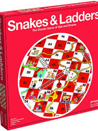 Snakes & Ladders – Pressman Toys