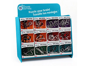 MIND MATTERS MINI WIRE PUZZLES