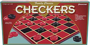 Family Classics Checkers – Pressman Toys