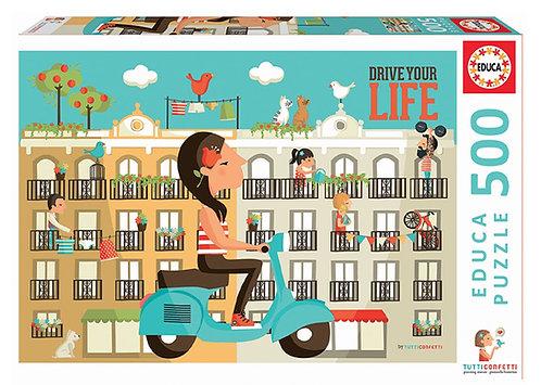 Educa Drive Your Life Puzzle 500 Pieces