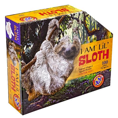 I Am Lil Sloth Puzzle 100 Pieces