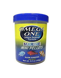 Omega One Marine Mini Pellets – Slow Sinking (3.5 oz)