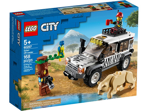 Lego City Safari Off-Roader Off-Road Toy