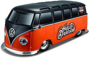 Maisto Harley-Davidson Custom Volkswagen Van Samba Radio Control Vehicle