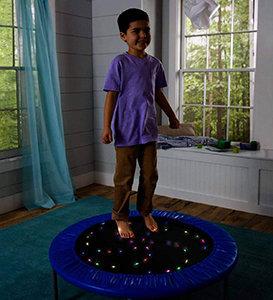 HearthSong Multi-Colour LED Light-Up Trampoline