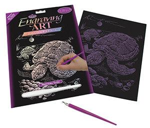 Royal & Langnickel Holographic Engraving Art - Sea Turtle