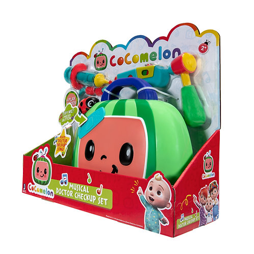 CoComelon Official Musical Checkup Case, Plays Clips from 'Doctor Checkup