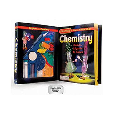 ScienceWiz Chemistry Kit (Solids, Liquids & Gases)