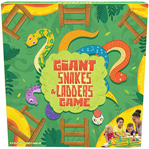 Giant Snakes & Ladders Game – Pressman Toys