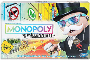 Monopoly for Millennials - Hasbro