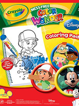 Crayola Color Wonder Colouring Pad
