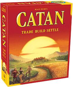 Catan – Trade Build Settle