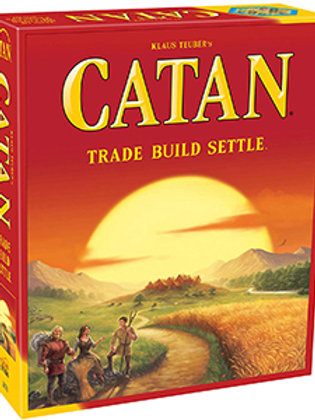 Catan – Trade Build Settle