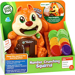 LeapFrog Number Crunching Squirrel