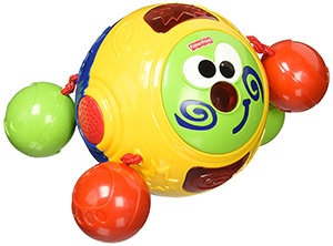 Fisher-Price Touch and Crawl Follow Me Friend