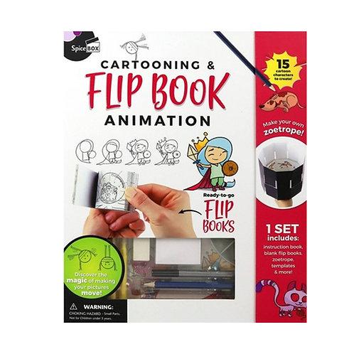 Spice Box Cartooning & Flip Book Animation