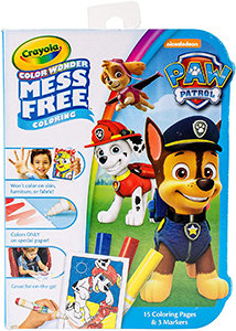 Crayola Paw Patrol Colour Wonder Mess Free Colouring