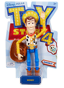 Disney Pixar Toy Story 4 Woody Figure