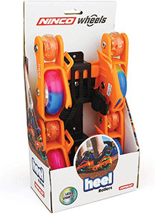 Ninco Wheels - Heel Rollers (Orange)