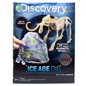 Discovery Ice Age Dig Fossil Kit