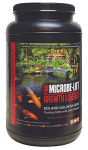Microbe-Lift Growth & Energy (Koi & Goldfish Food) – Floating Pellets
