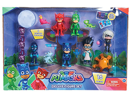 PJ Masks Deluxe Figure Set (16 pieces)