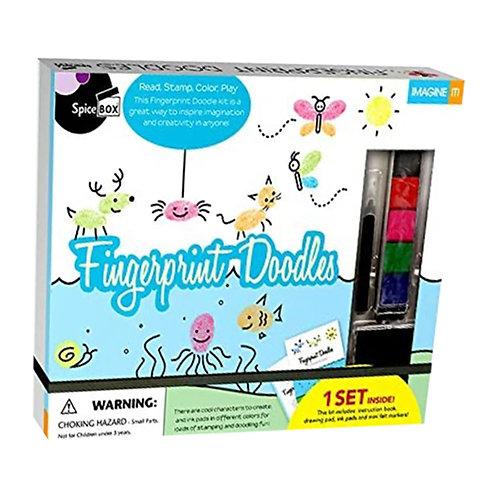 Spice Box Fingerprint Doodles