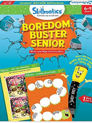Skillmatics: Boredom Buster Senior (Write & Wipe Activity Mats) (6-9 Years)