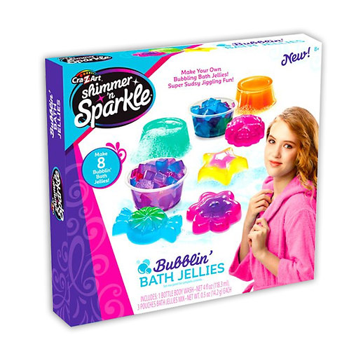 Cra-z-art Shimmer and Sparkle Make Your Own Bubblin Bath Geleez