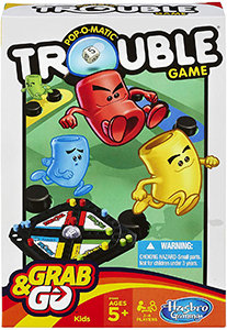 Pop-O-Matic Trouble Grab & Go - Hasbro