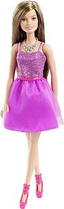 Barbie Glitz Doll (Purple Dress)