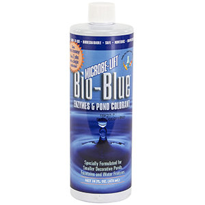 Microbe-Lift Bio-Blue – Enzymes & Pond Colorant (16 oz)
