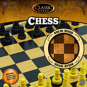 Chess Classic Games – Solid Wood