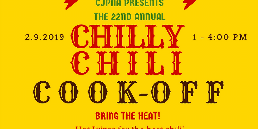 22nd Annual Chilly Chili Cook Off