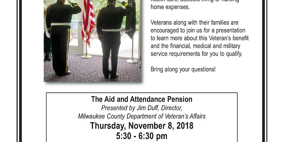 The Aid and Attendance Pension