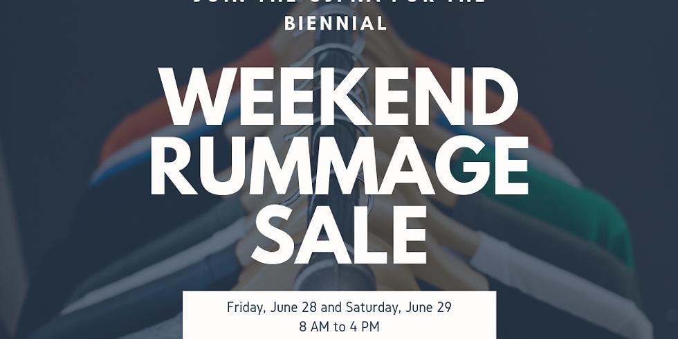 CJPNA Biennial Rummage Sale!